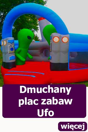 Dmuchany plac zabaw Ufo, idealna atrakcja na festyn, piknik, dmuchańce wrocław