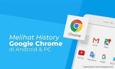 cara melihat history google chrome
