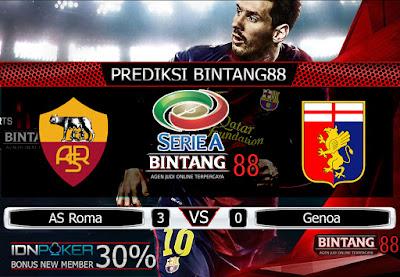 Prediksi Skor AS Roma vs Genoa 26 Agustus 2019