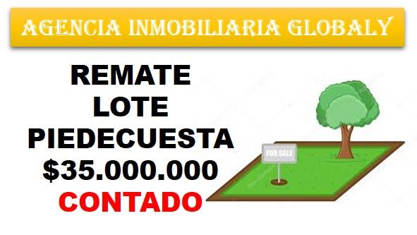 REMATE LOTE PIEDECUESTA SANTANDER COLOMBIA
