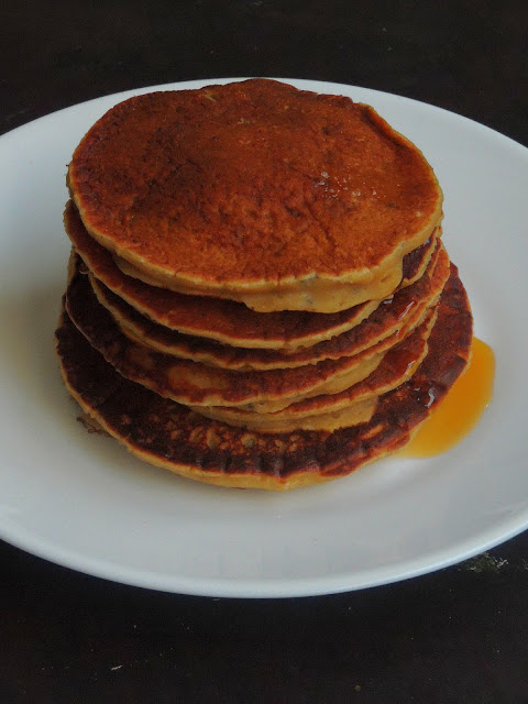 Chia Seeds & Maple Syrup Pancakes