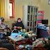 Kapus Halaban, Camat LSH, Koramil 04 Luak dan Polsek luak Bahas covid - 19