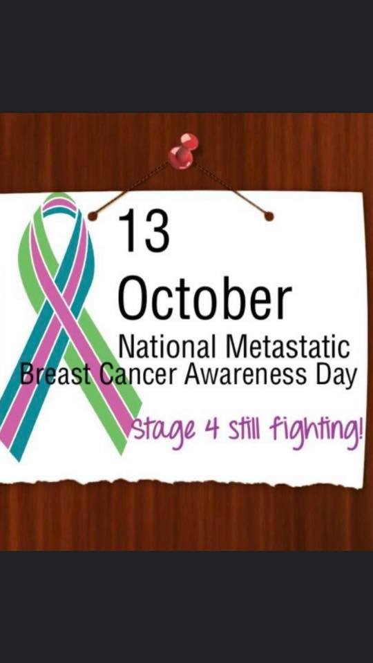 Metastatic Breast Cancer Awareness Day Wishes Pics