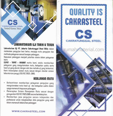 Besi Beton CS CAKRATUNGGAL STEEL