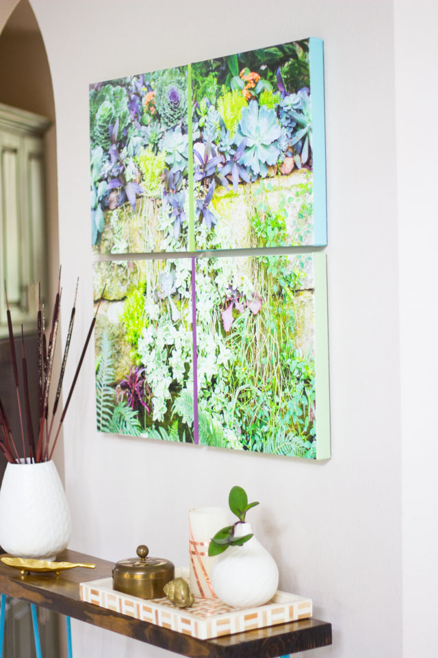 How to Turn a Photo into Canvas Wall Art