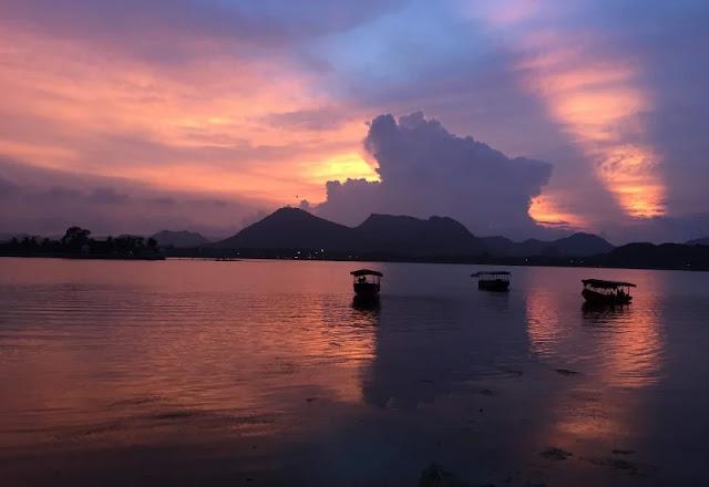 Fateh Sagar Lake in hindi