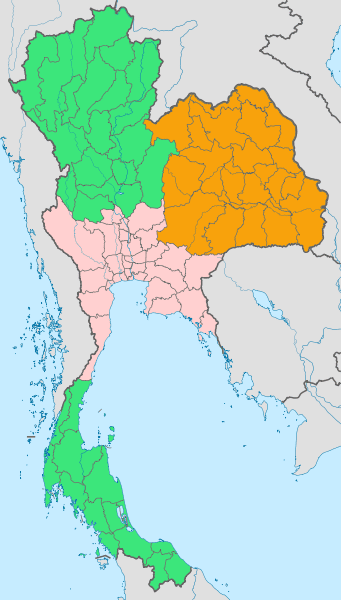 Region di Thailand