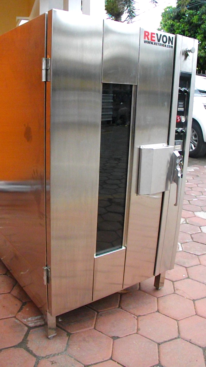 Cara kerja oven convection untuk industri bakery oven for Daftar harga kitchen set stainless steel