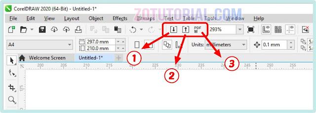 Cara Export Gambar Vector CorelDraw Menjadi JPG/PNG/PDF