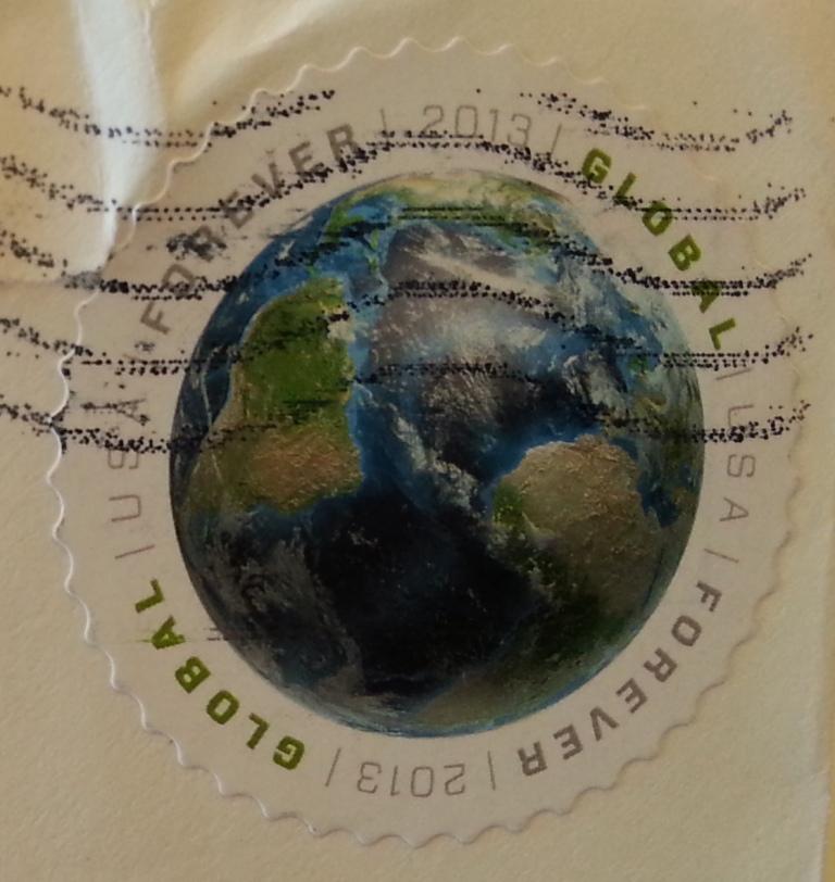 francobollo USA Global Forever