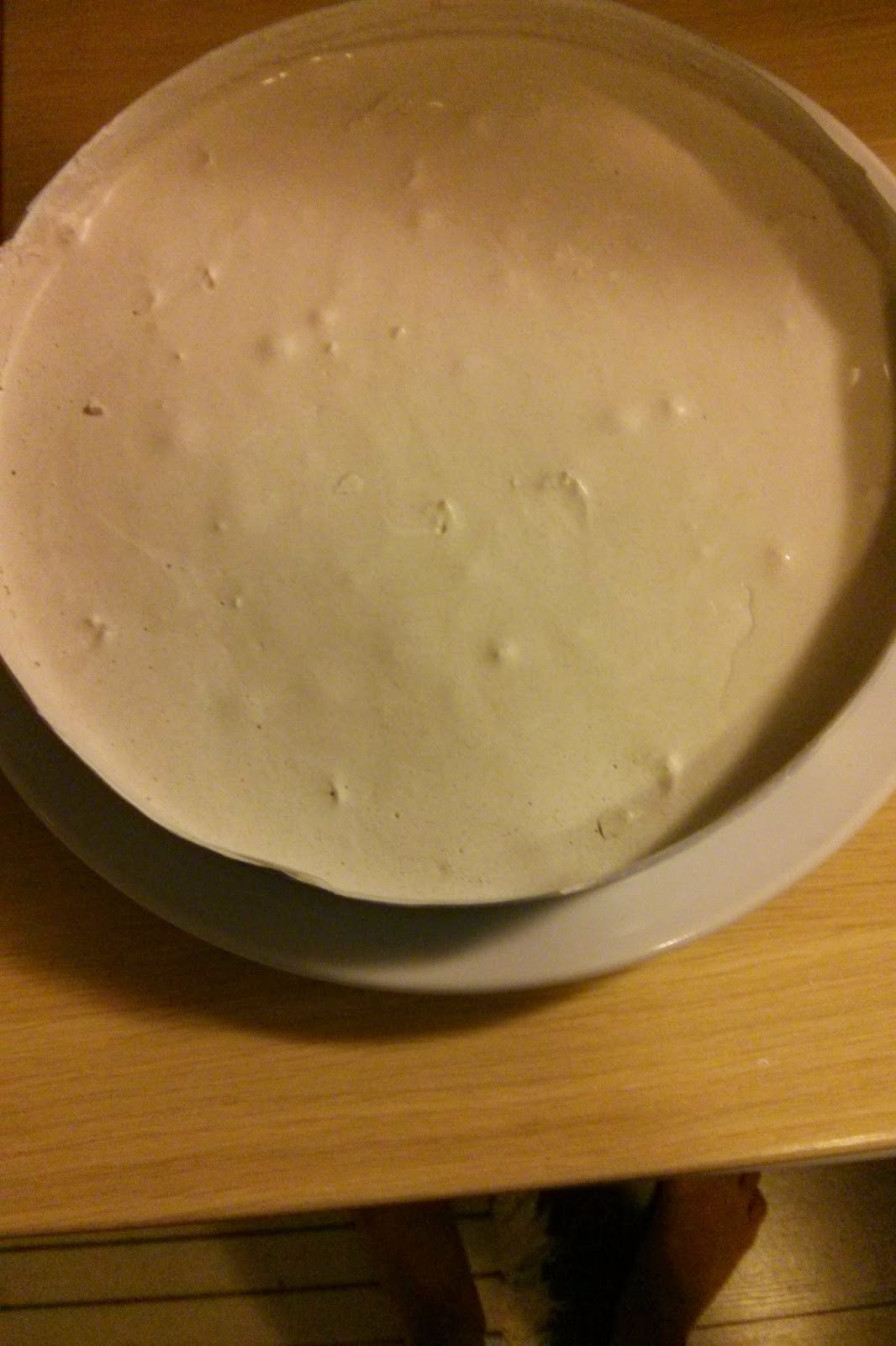 smooth plaster disk mistake on OneQuarterMama.ca
