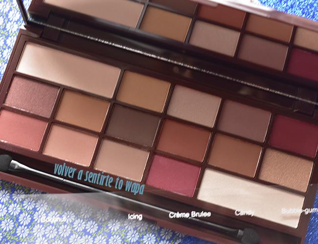 Paleta de Sombra de Ojos Chocolate Elixir de I heart Makeup