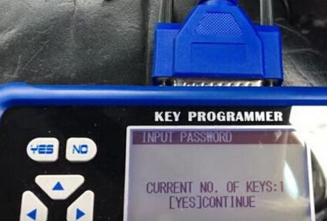 Current number of keys
