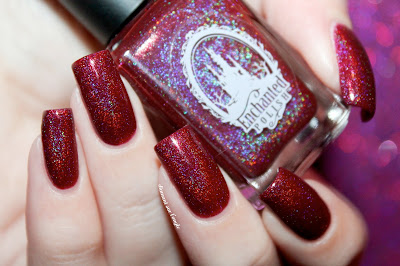 "Swatch of the nail polish ""Holiday 2015"" from Enchanted Polish"