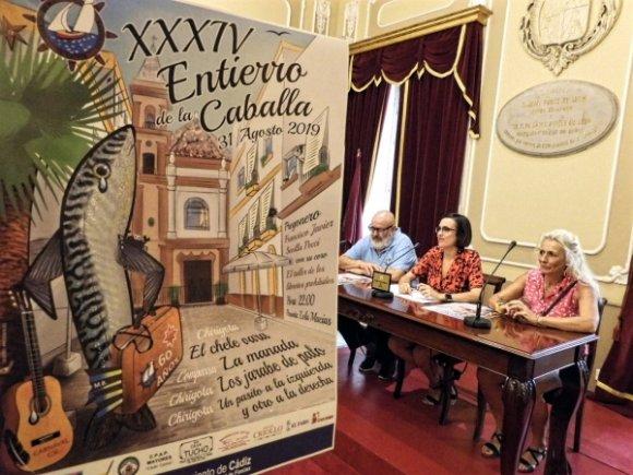 Horario y actuaciones del XXXIV Entierro de la Caballa de Cádiz