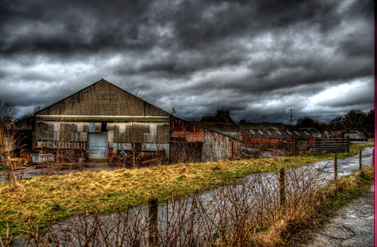 HDR's of the old brick works