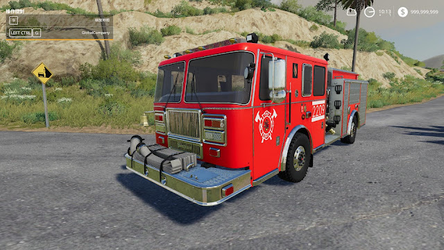 Seagraves Fire engine v1.0 FS19