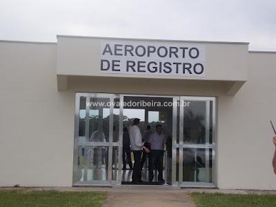 Aeroporto de Registro-SP será concedido à iniciativa privada
