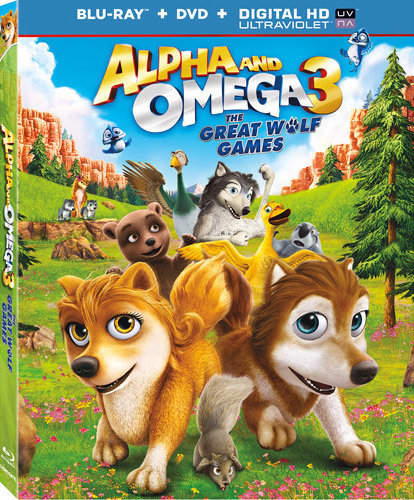 Alpha and Omega 3 The Great Wolf Games 2014 Dual Audio BRRip