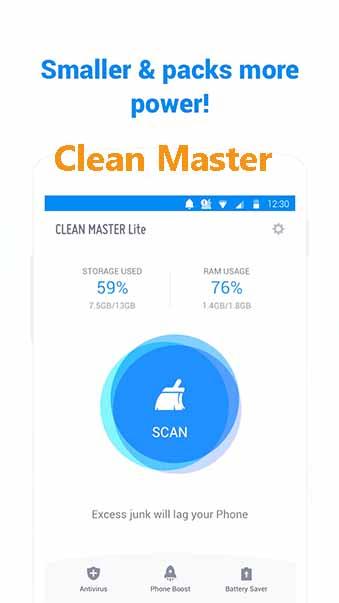 Tải Clean Master - Cây chổi quét virus, dọn rác trên điện thoại Android, PC c