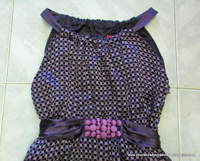 vestido escote halter