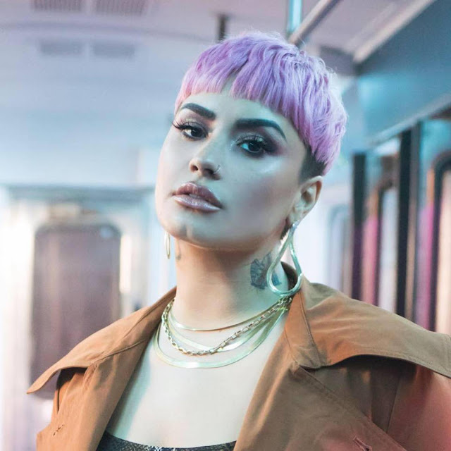 Demi Lovato and Sam Fischer – 'What Other People Say' Promo (February 2021)