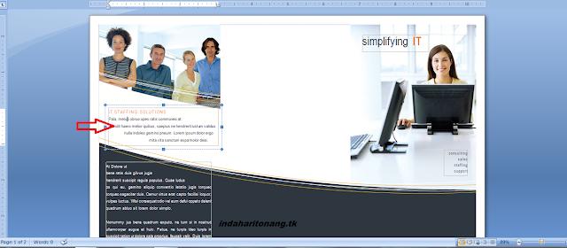Sekilas Info : Cara membuat leaflet (brosur) dengan ...