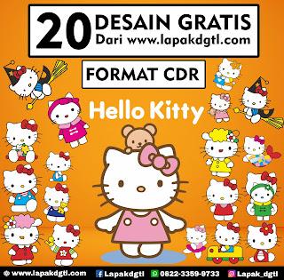 GRATIS 20 DESAIN Hello Kitty