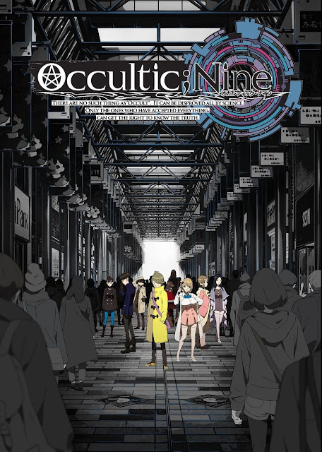 Plakat anime Occultic;Nine