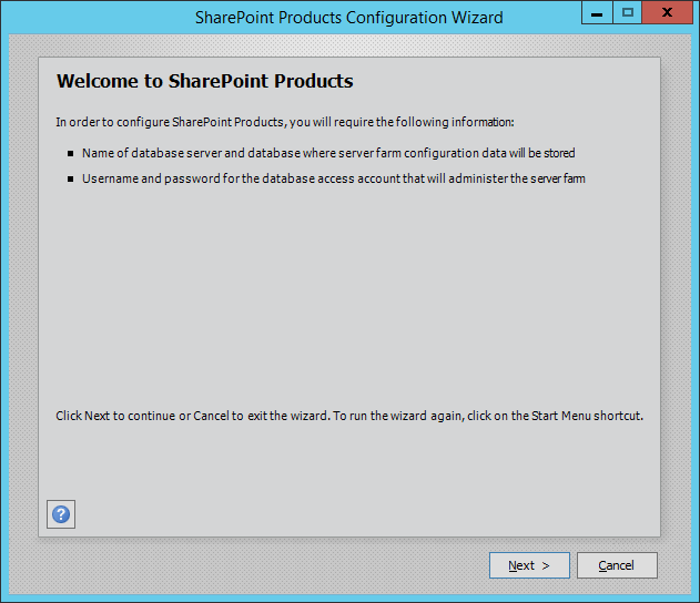sharepoint 2016 installation accounts