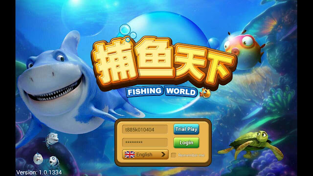 Slot Online Fishing World
