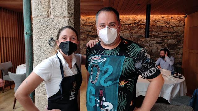 Lucía Freitas A Tafona Santiago con Oscar Gómez decuina starbase