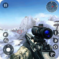Winter Mountain Sniper - Modern Shooter Combat Free Shopping MOD APK