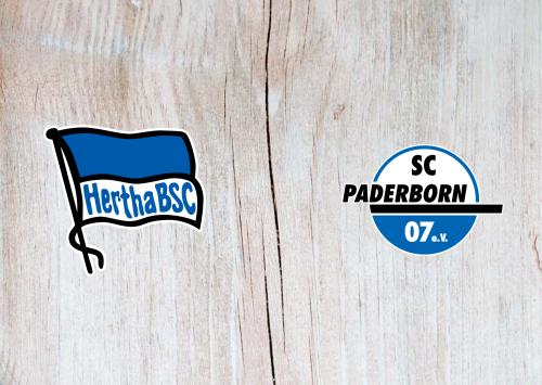 Hertha BSC vs Paderborn -Highlights 21 September 2019