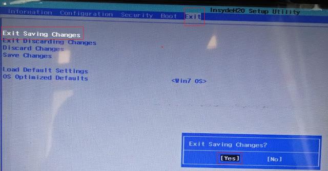 Mengatasi Masalah Bluescreen Saat Install Windows 7 di Lenovo G40