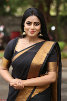 Poorna in Cute Backless Choli Saree Stunning Beauty at Avantika Movie platinum Disc Function ~  Exclusive 073.JPG