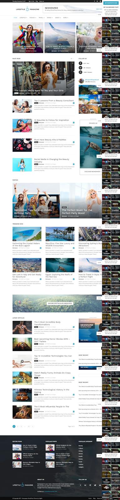 Magazine/News WordPress