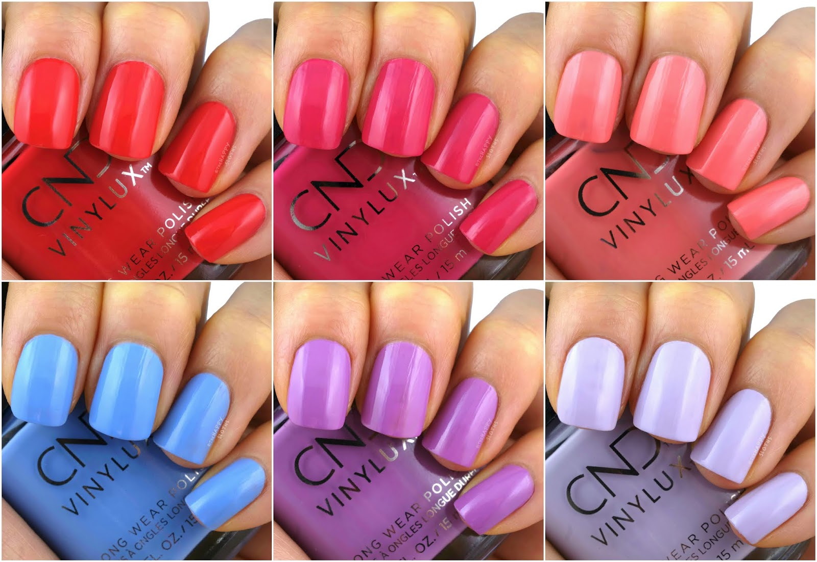CND | Summer 2020 Nauti Nautical Collection: Review and Swatches