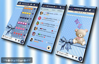Teddy Bear On Theme For YOWhatsApp & Fouad WhatsApp By Nanda