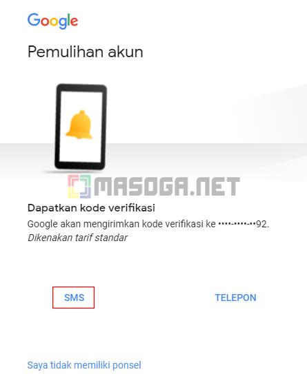 Cara Mereset Password Gmail Dengan Nomor Hp Terbaru 2018 Masoga Net