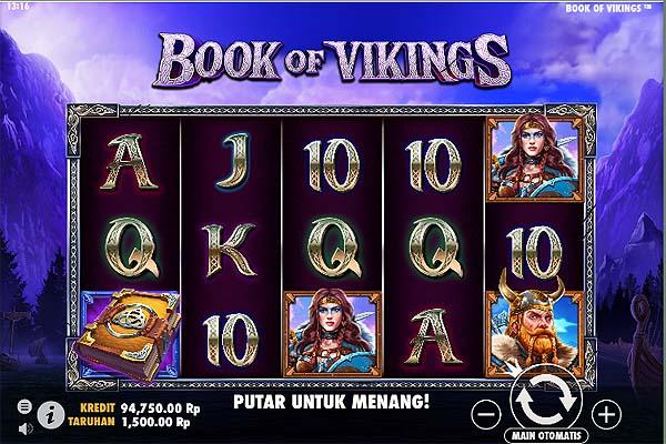 Main Slot Gratis Indonesia - Book of Vikings (Pragmatic Play)
