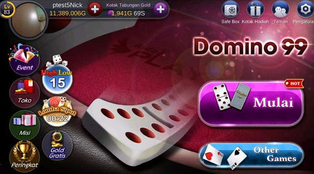Aturan Dasar Game Domino di NEW Mango Domino 99