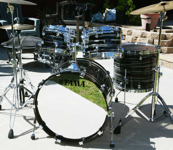 Matt Eder on Drums!: Tama Starclassic Performer b/b Black