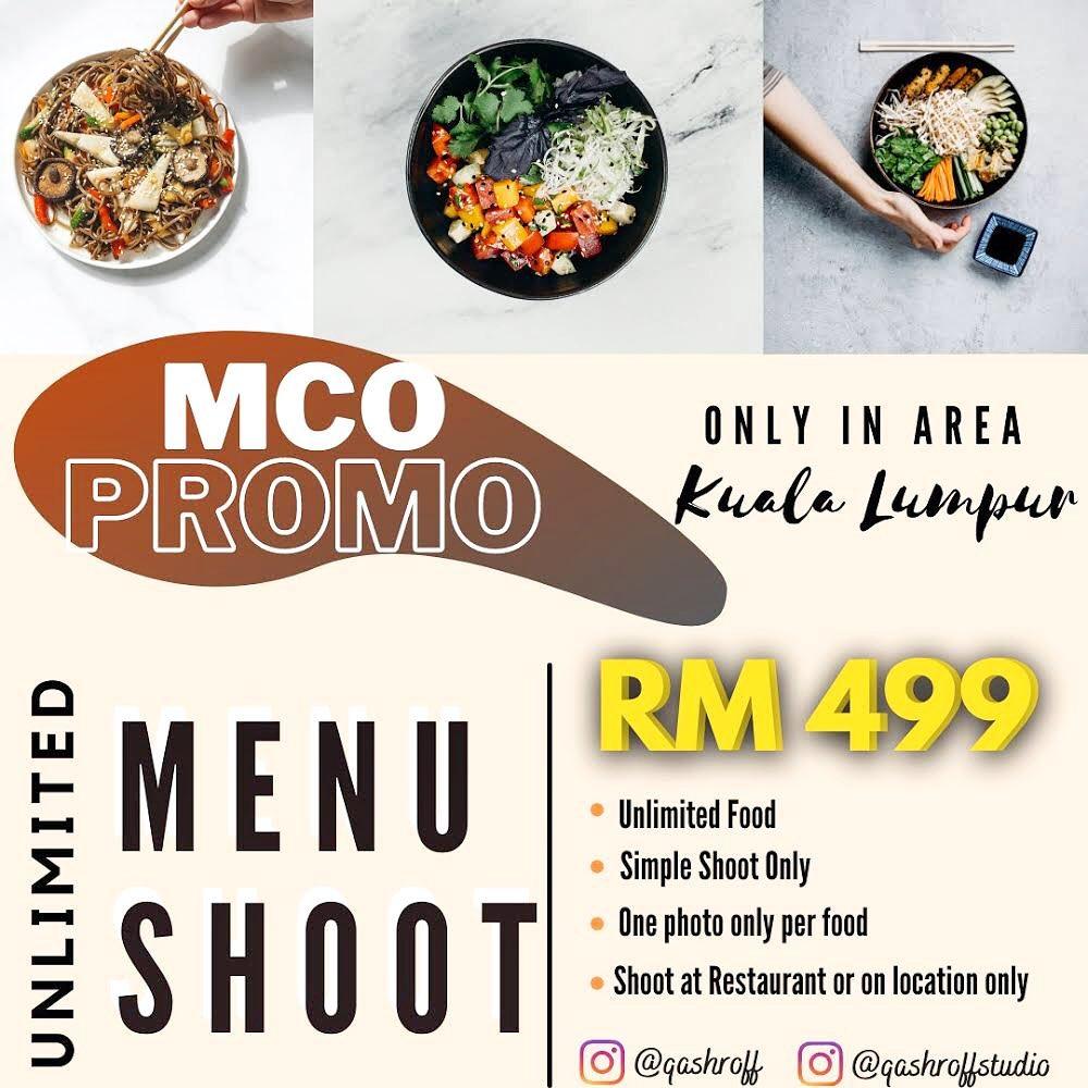 Promosi Shoot Menu Makanan