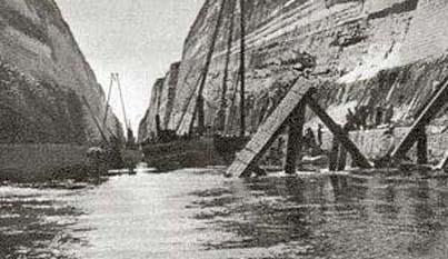 26 April 1941 worldwartwo.filminspector.com Corinth Canal