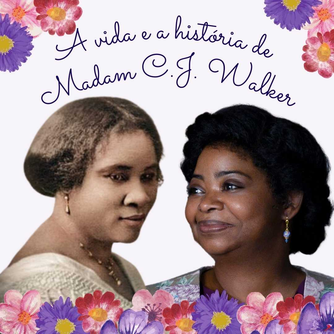 Madam CJ Walker e Octavia Spencer
