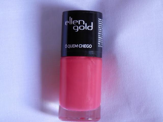 Swatche: Esmalte Ô Quem Chego da Ellen Gold