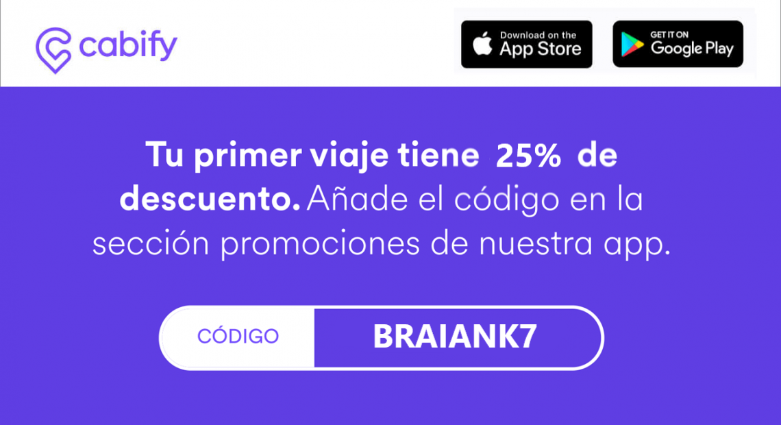 Cupon de Descuento de Cabify Argentina