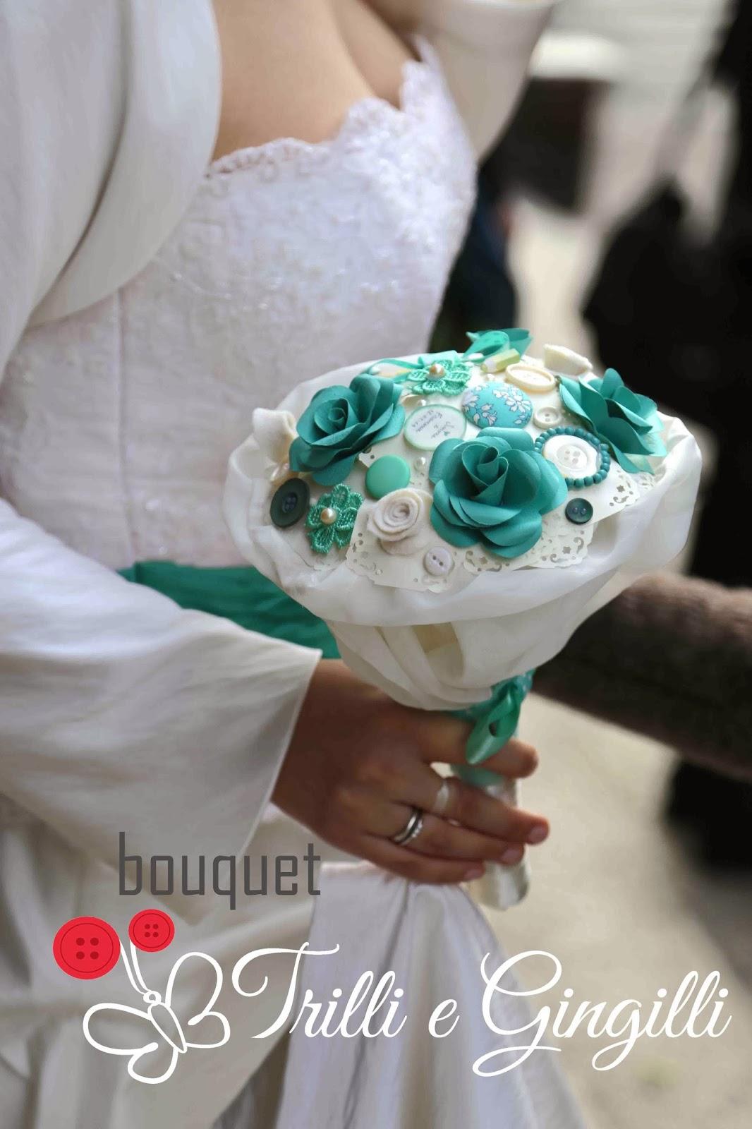 Conosciuto Trilli e Gingilli - Le creazioni di Sara: Bouquet color tiffany  WW34