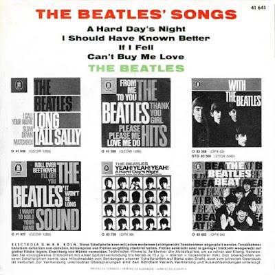 The Beatles Songs (EP Sep 1964)